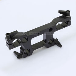 15mm Rod 19mm Rod Light Weight to Studio Support Adapter Adaptor Clamp fr 15mm LWS Rail System Camera Camcorder Tripod