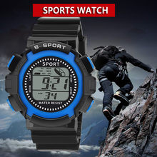 Sanwony Luxus Männer Analog Digital Military Sport LED Wasserdichte Armbanduhr smart watch männer sim karte armbanduhr uhr frauen(China)