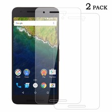 Nexus 6P Screen Protector Super 9H 2.5D Explosion-Proof Sundatom Tempered Glass For Huawei Google Nexus 6P 5.7 inch