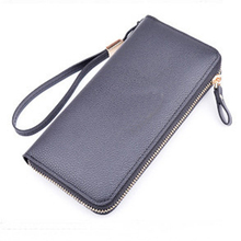 SUONAYI womens Wallet Coin Purses Brand card holder magic wallet Zipper fashion purses Small Female Long purse
