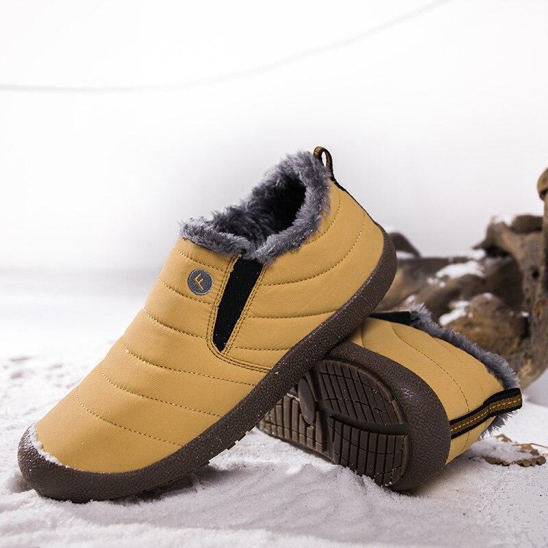979b769f2684 Plus Size Unisex Waterproof Fur Lining Slip On Snow Boots women Men Shoes  Winter DA120. QQ20180920153309. 27 29 34 38 39 40 41 42. 43 44 45 48 49