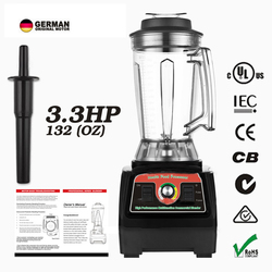 2800W 3.9L Super capacity commercial Heavy Duty Professional Smart Blender Mixer Juicer Fruit Food Processor Ice Smoothie mixer