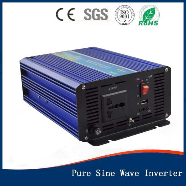 Inversor de onda sinusoidal pura de 500 W 12/24/48 V a 100/110/120/240 /pantalla LED inversor de alta frecuencia de 230/220 V, CE aprobado