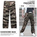 2016 новый летний стиль военный камуфляж брюки-карго, мужская мода случайные штаны комбинезон камуфляж брюки