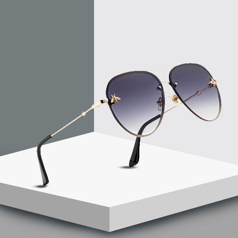 MXDMY  Men Vintage Metal Framed Sunglasses Classic Brand Sun Glasses Coating Lens Driving Shades For Men/Wome
