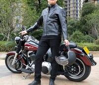 Heiße verkäufe Männer PU winter jacke professionellen rennsport jacke motorradjacke lieferung 5 sätze von schutzausrüstung wasserdichte jacke