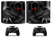 Dark Skull 205 PS4 Pro Skin Sticker Vinyl Decal