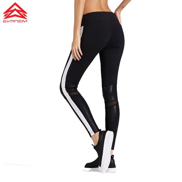 5f6129d74267f Syprem 2017 Spring Women Sexy Yoga Sports Pants Compression Leggings Hollow  Mesh Leggings Gym Skinny Fitness Sportswear,FP1014