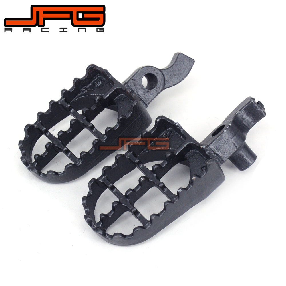 Motorcycle Foot pegs Footrest For CR125 CR250 2000-2001 CR 125 CR 250 2000 2001 Dirt Bike Motocross