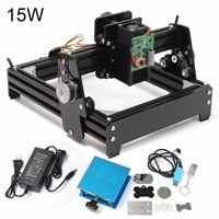 15W Laser AS-5 USB Desktop 15000mW CNC Laser Engraver DIY Marking Machine Router For Metal Stone Wood Engraving Area 14 x 20cm