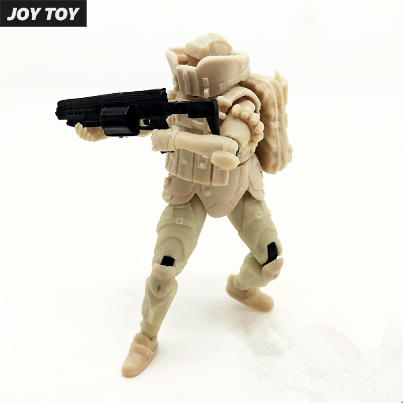JOY TOY 1:27 soldiers action figures Assembly model kits U.S. Army Spartan military movable doll toys Free shipping
