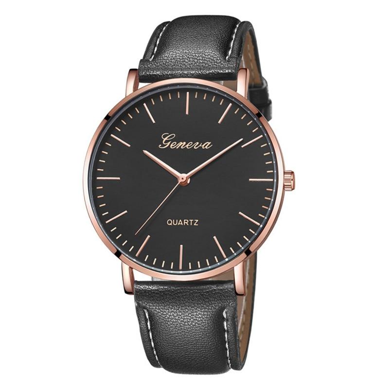 Fashion Men Watches 2019 Luxury Brand Simple Designer Casual Watch Men Quartz Wristwatches Brown Leather Man Clock Montre Homme