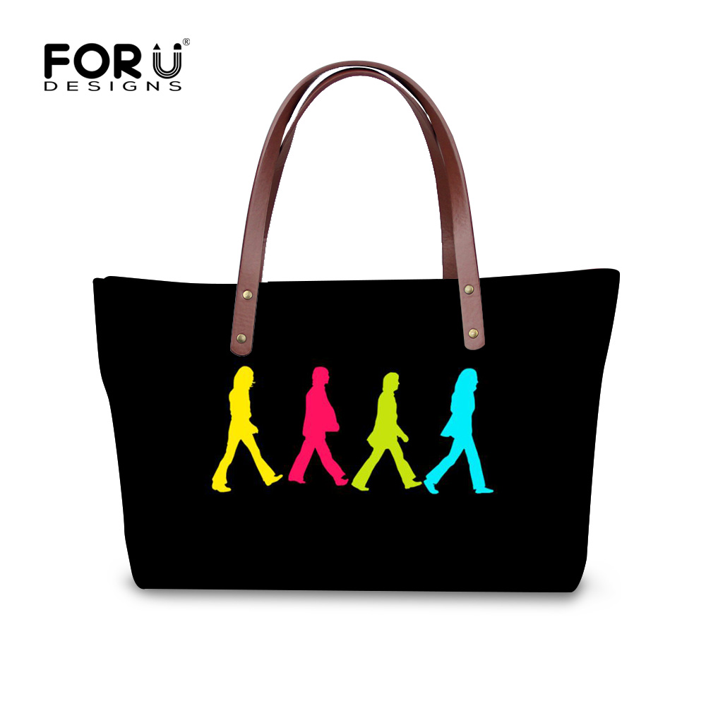 FORUDESIGNS 2017 Totes Bags handbags women famous brands rock women handbags Fashion casual ladies shoulder bags bolsa feminina forudesigns casual women handbags peacock feather printed shopping bag large capacity ladies handbags vintage bolsa feminina page 7