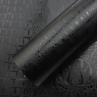 600mm*3000mm DIY Simulation Faux Crocodile Skin Leather Pattern PVC Motorcycle Car Sticker Retro Crack Design Auto Car Styling