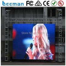 Leeman литьё под давлением из алюминия внутренний / на открытом воздухе прокат светодиодный дисплей экран, P6.6 6, P8, P10 smd