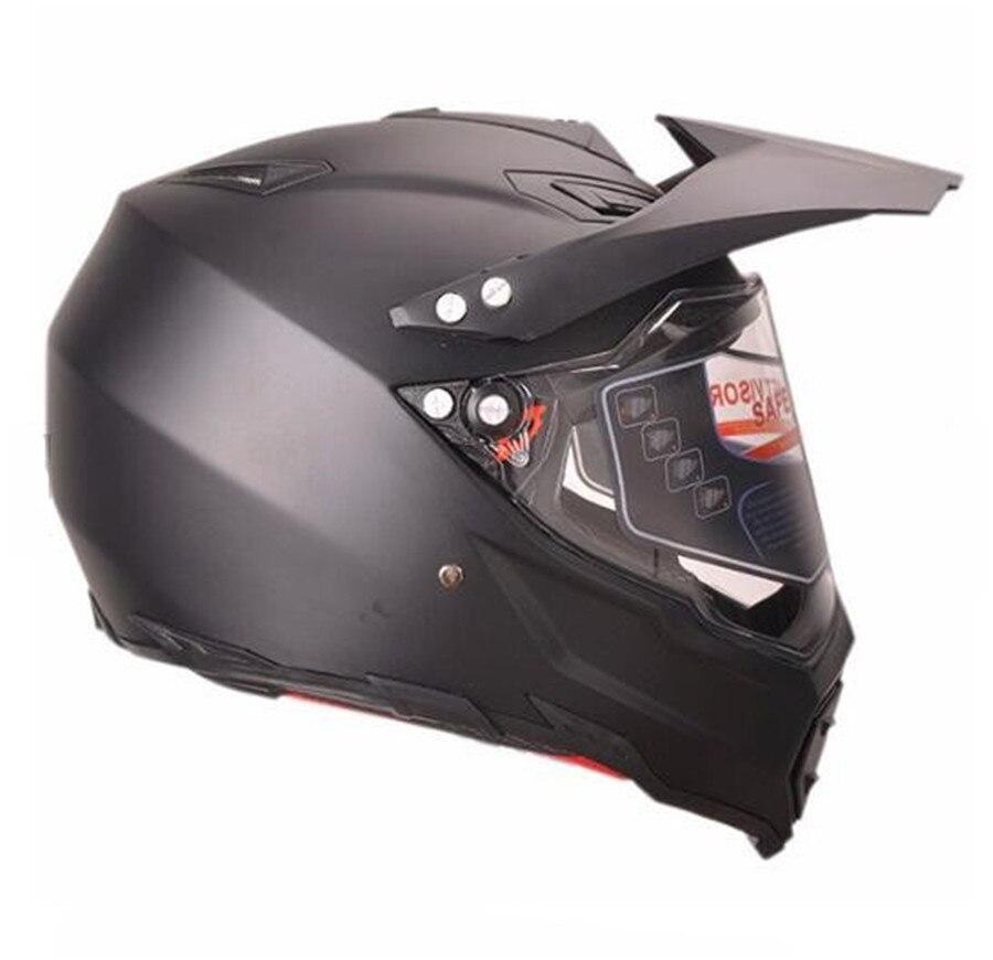 Dirt Bike Helmet With Visor >> Dot Adult Helmet For Dirtbike Atv Motocross Mx Offroad Motorcyle Street Bike Snowmobile Helmet With Visor Medium Gloss In Helmets From Automobiles