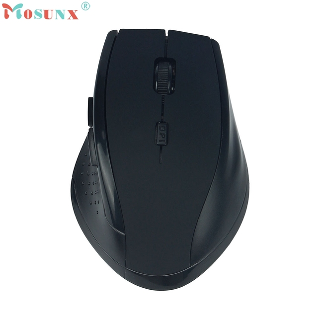 Beautiful Gift New High Quality New 2.4GHz USB Wireless Gaming Game Mouse Mice For PC Laptop MAC Drop Shipping Jun7