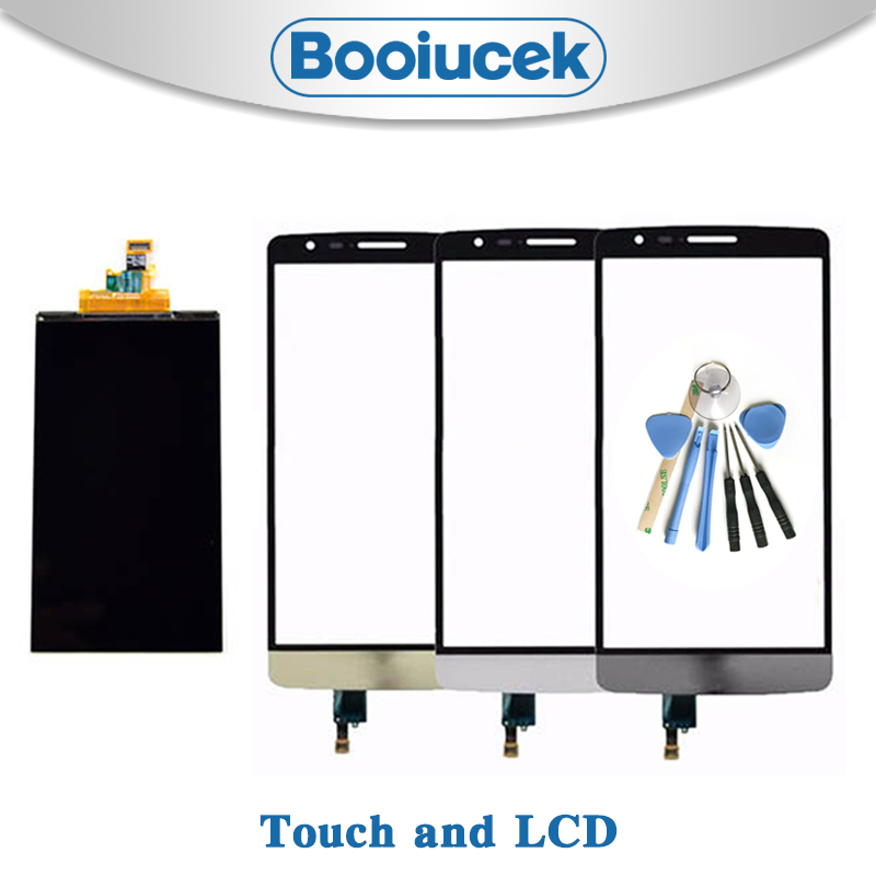 High Quality 5.0'' For <font><b>LG</b></font> <font><b>G3</b></font> mini G3S D725 D722 D728 Lcd Display With Touch <font><b>Screen</b></font> Digitizer Sensor Replacement or repair image