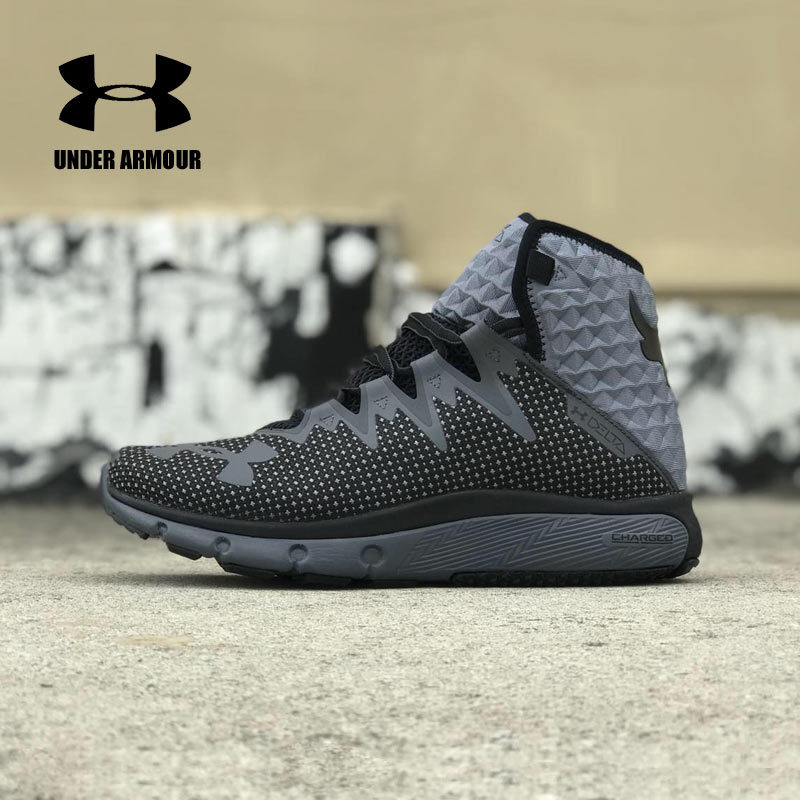 c58bf1f3 2018 Under Armour Basketball Shoes UA PROJECT ROCK DELTA DNA Men's Sport  Sneakers Men Outdoor Medium Top Johnson Cushioning Shoe-in Running Shoes  from ...