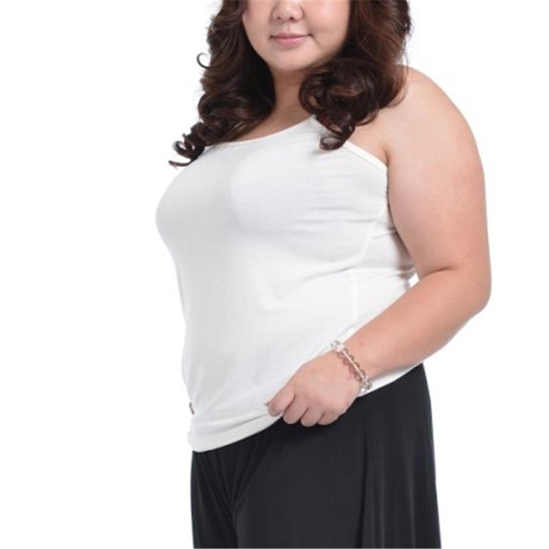 Tank     Top   Underwear Women Haut Femme Summer Shirt Mujer Sexy Feminino White Black   Tops   Womens Sleeveless Plus Size 3XL 4XL Cami