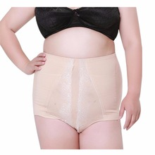 Corrective Briefs Pants Women's panties Seamless High Waist Plus Size Underwear for women Briefs Big Size Cotton Stretch panties
