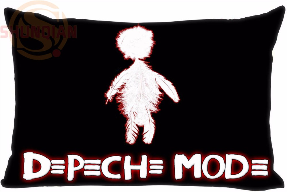 Hot Pop/Rock Band Depeche Pillow Cover  Mode Custom Pillowcase 45X35cm One Side