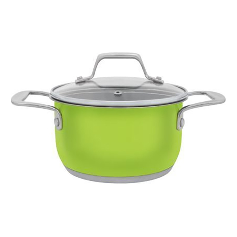 Pot with lid Esprado Aranda Verde ARVL16GE101 ibili 418328 stock pot with lid vital 28 cm