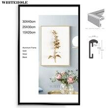 Металлическая рамка для картины картина классический минималистский настольная фоторамка фото 15×20 20×25 30×40 см Pleixglass внутри плакат рамки