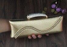 2016 mode Neue Abendtaschen Frauen Designer Marke Handtasche Frauen Perlen Party Handtasche SMYCWL-E0034