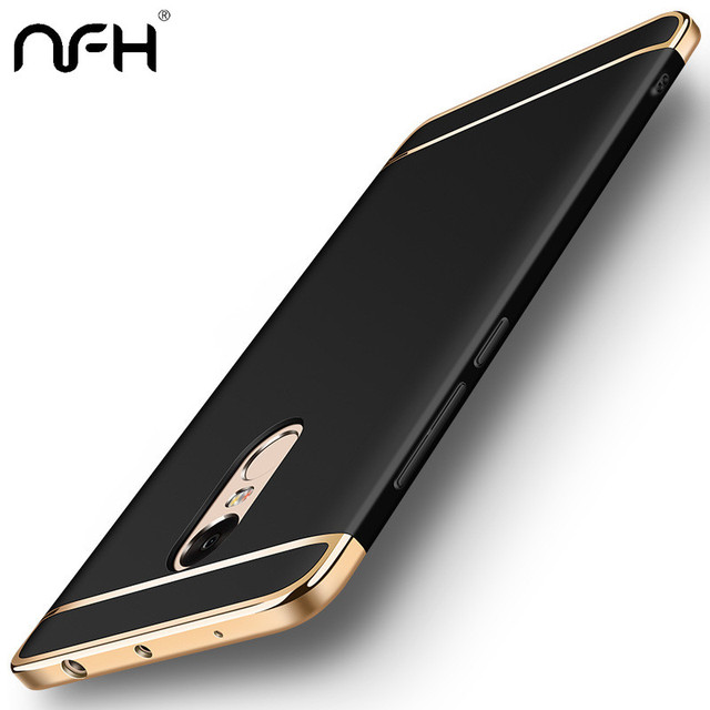 NFH Luxury Plating Protective case For Xiaomi Redmi 5 Plus Cover Bumper for Xiaomi On The Redmi 4x 5 A 5Plus Note 5 pro Case