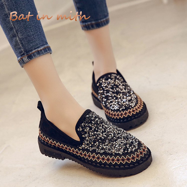 1e2cf04af wild casual shoes women 2018 spring summer fashion women cozy flats slip on  loafers PU leather