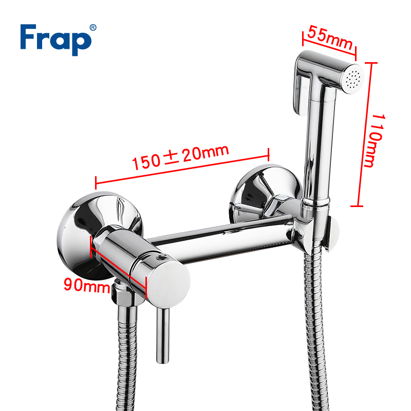 Image 4 - FRAP Bidet Faucets wall mounted bidet toilet faucet shower with 