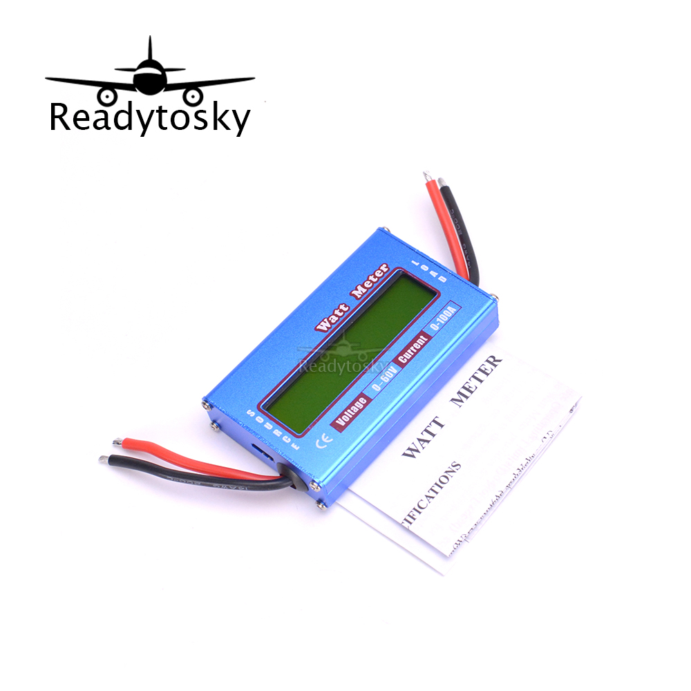 New Digital LCD For DC 60V/100A Balance Voltage RC Battery Power Analyzer Watt Meter