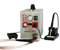 2in1 709A Micro computer Pedal control battery spot welder+Soldering 220V