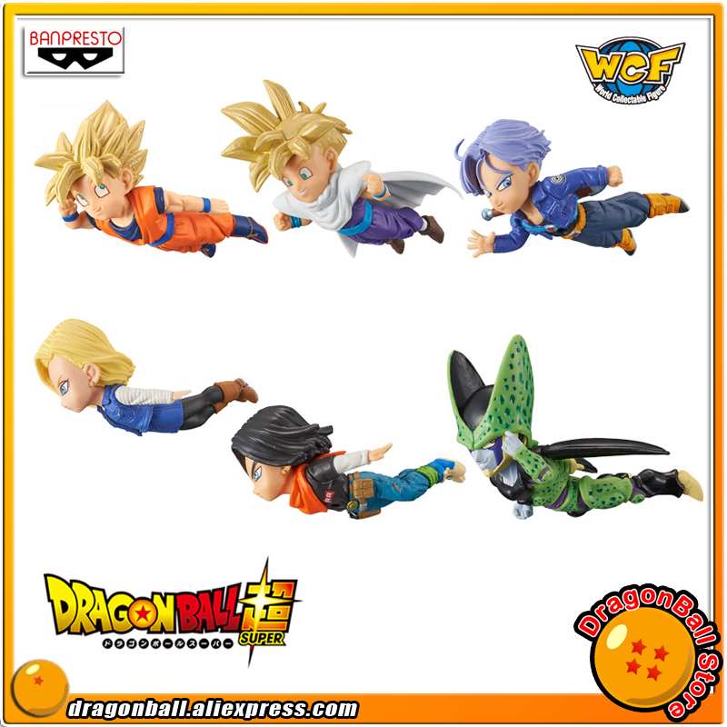 Dragon Ball Z Original BANPRESTO World Collectable Figure / WCF The Historical Characters Vol.2 Figure - Full Set of 6 Pieces ride the dragon 38
