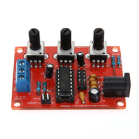 2017 New XR2206 Function Signal Generator DIY Kit Sine Triangle Square Output 1Hz 1MHz Measurement Instruments