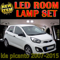 Cheetah 6 X Error Free Car LED Vehicle Interior Map Dome roof Door Lights Kit Package for kia picanto accessories 2007-2015