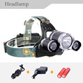 2017 New 5000LM 30W High front Hunting lamp light Powerful Headlamp Led Headlight including 2x18650 Battery +CH