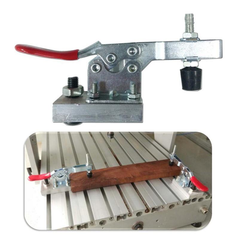 2Pcs CNC Work Table Metal Clamp Engraver Fastening Platen Fixture Engraving Machine Woodwork Quick Press Clamp