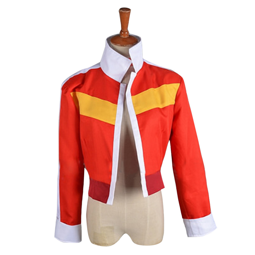 Voltron: Legendary Defender Keith Jacket Coat Cosplay Costume Cartoon Halloween Carnival Birthday Party Costume For Men