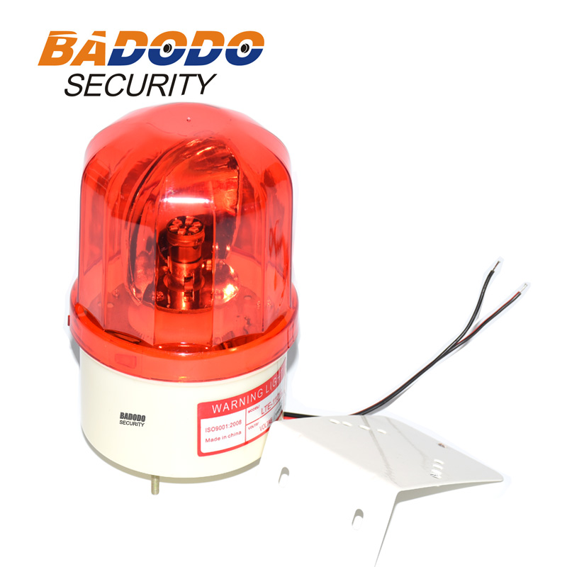 GSM Alarm system gate opener rotating rotary flashing Signal Warn Warning Siren LED Lamp with buzzer 100dB