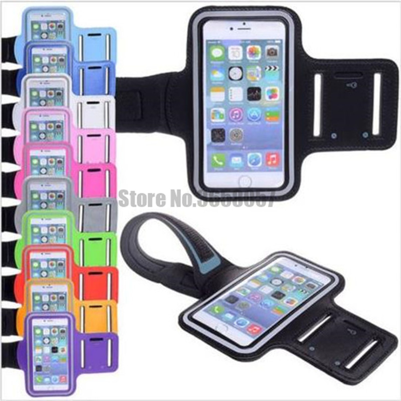 Adaptable 100pcs/lot Armband Arm Band Belt Cover Running Gym Bag Armband For Iphone 6 6s 7 6 Plus 7 8 Plus Mobile Phone Accessories