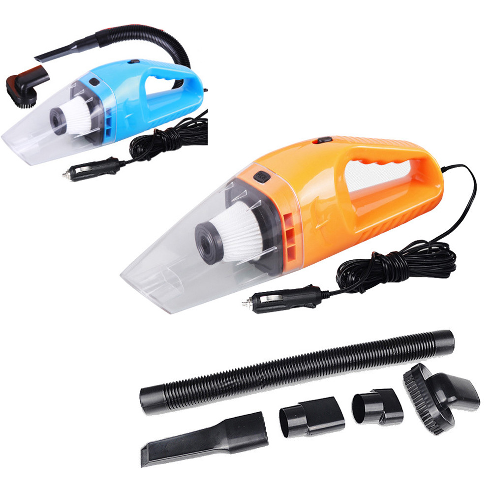 new universal 12v 120w suction mini vehicle car handheld vacuum dirt cleaner wet dry car. Black Bedroom Furniture Sets. Home Design Ideas