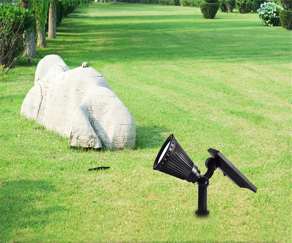 T SUN In Ground IP65 Solar Powered Spotlight with 4 to7 LEDs and Rechargeable Lithium Battery 23
