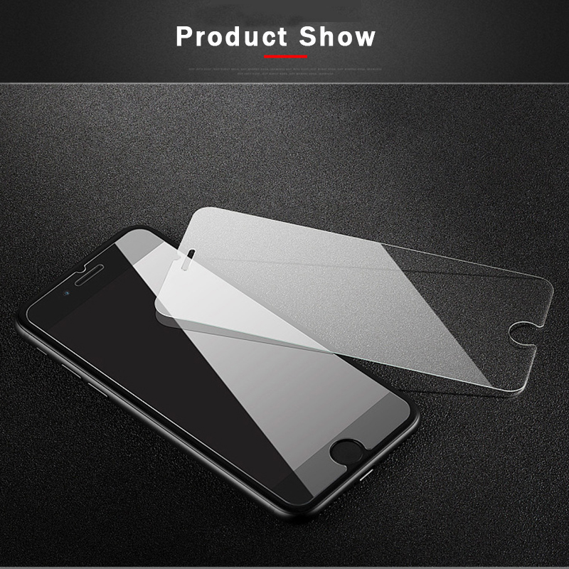 Mobymax Tempered Glass for iPhone X 8 7 7 Plus 6 6S 6G Plus 5 5S 5G 4 4S 4G Touch Glass Screen Protector Film Good Quality