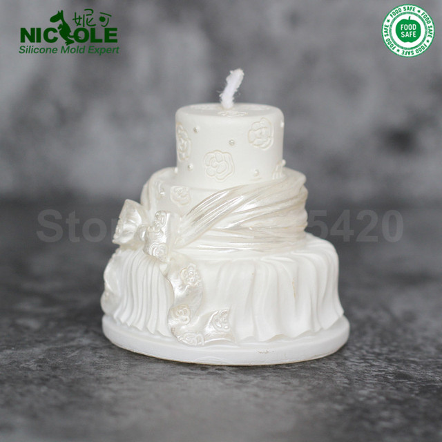 Wedding Cake Decoration Molds : Rose Lavender Soap Wedding Cake By Edens Secret YES It Is ...