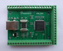 USB DAQ 12AD 2DA 8DI 8DO Module d'acquisition de données analogique 3.3V numérique 2PWM compteur LabVIEW Matlab VC Codes Win10