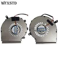 A Pair New Original CPU GPU Cooling Fan For MSI GE62 GE72 PE60 PE70 GL62 PAAD06015SL N302 Laptop Cooler Radiators Cooling Fan
