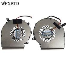 Cooling-Fan Laptop Cooler GE62 GE72 Radiators Cpu Gpu for MSI Ge62/Ge72/Pe60/.. A-Pair