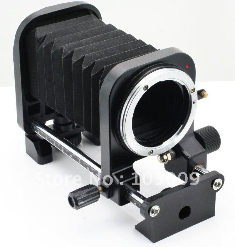 lens Macro Extension/Fold Bellows mount For Nikon D700 D300 D90 D80 D3 D7000 D5100 Camera macro extension tube for sony e mount ac ms silver grey
